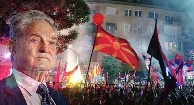 ΑΠΟΚΑΛΥΨΗ: Σόρος, ΝΑΤΟ… Η Κατασκευασμένη «χρωματιστή επανάσταση» στα Σκόπια!