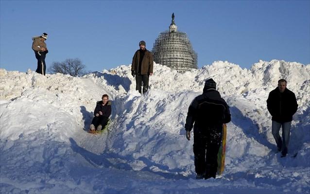 Περέλυσε η Ουάσιγκτον λόγω χιονιού