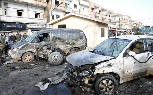 Διπλή βομβιστική επίθεση στη Χομς με 22 νεκρούς