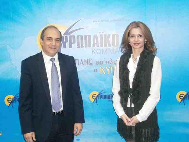 Ο πρόεδρος του Ευρωπαϊκού κόμματος, Δημήτρης Συλλούρης, μιλά αποκλειστικά στην Θάλεια Χούντα. Κύπρος: πολιτικές και οικονομικές εξελίξεις
